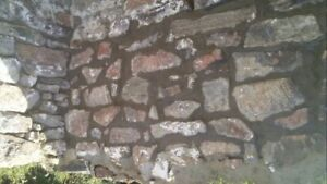 Looking for stone and brick work.