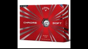 Bulk Callaway Chrome Soft Balls Cottesloe Cottesloe Area Preview