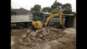 Excavator Tipper Bobcat Rock Breaker Auger Soil Removal Penrith Penrith Area Preview