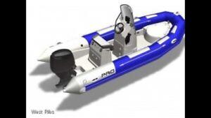 New Zodiac 550 Rigid Inflatable Boat (Rib)