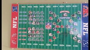 NFL magnetized Scoreboard