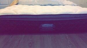 Beauty Rest Westminster Queen size bed with extended warranty
