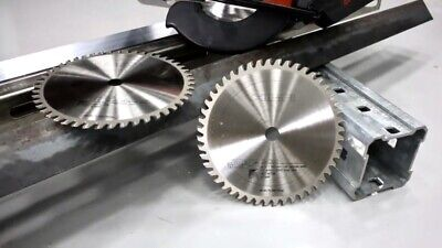 48-40-4515 8 42 Tooth Dry Cut Cermet Tipped Metal Cutting Saw Blade 5pack