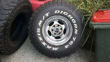 "15""x10"" steel rims suit patrol landcruiser hilux ect Bilambil Heights Tweed Heads Area Preview"