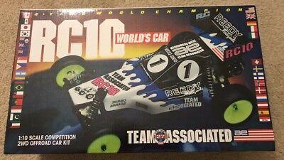 Team Associated RC10 Worlds Car Kit NIB Re-release 6002 New