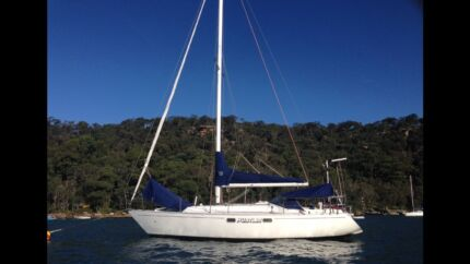 East Coast 31 ft Yacht Sail Boat in Pittwater Sydney