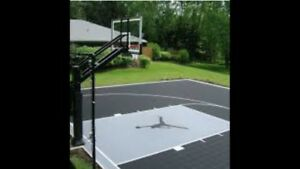 Basketball Court Installation / Custom Basketball Court Services
