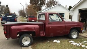 1981 Chevy Shortbox Stepside for sale