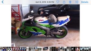 1994 Kawasaki ninja still in GREAT SHAPE!!!!