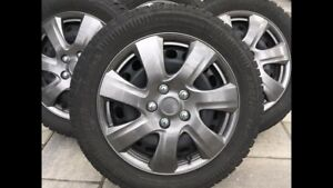 VW winter tires with rims