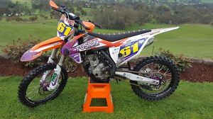 KTM 250sxf 2016 Lilydale Yarra Ranges Preview