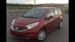 WEEKEND SPECIAL!!!  2014 VERSA NOTE SV.  ONLY $6999 !!!