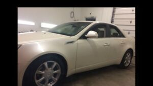 2008 Cadillac CTS4 AWD ONLY 106000K + extra set of winter tires