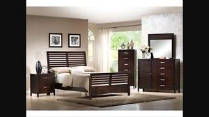 Expresso King bedroom set  -