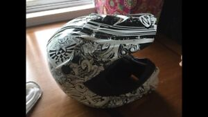 Youth Medium Zox atv helmet