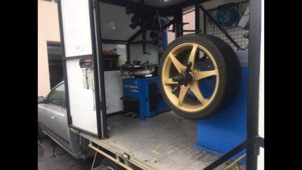 Mobil Tyre Workshop Business