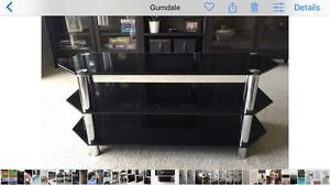 Black Glass TV stand Sheldon Brisbane South East Preview
