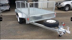 NEW YEAR SPECIAL 7x5 hot dip galvanised single axle Amex/visa welcome Adelaide CBD Adelaide City Preview
