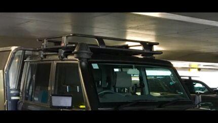 79 Dual Cab Land Cruiser ARB Steel Roof Rack