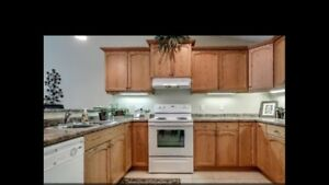 Kitchen cabinets in very good condition
