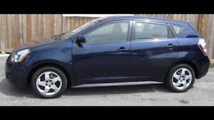 Pontiac vibe 2010 1,8 L bleu équipé 1 taxe