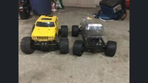 Savage xl and 25 Rc truck