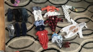 baby boy clothes (newborn to 12+ month)