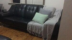 Demir leather couches Granville Parramatta Area Preview