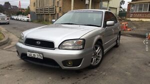 2002 Subaru Liberty R.X 5 speed manual Homebush Strathfield Area Preview