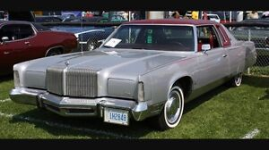 ISO: 74-76 full size Imperial or Chrysler Coupe