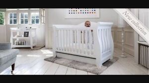 Boori Sleigh Royale cot and change table New Lambton Newcastle Area Preview
