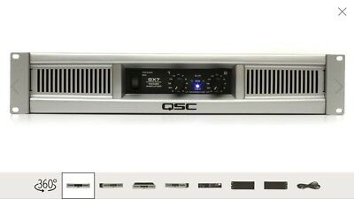 Lightweight Stereo Power Amplifier - QSC GX7 Lightweight Rackmount Stereo Power Amplifier 725W/Channel @ 8 Ohms Used
