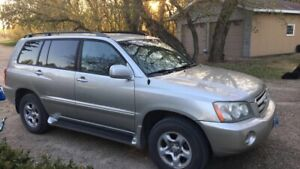 2003 Toyota Highlander in excellent condition