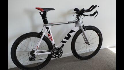 2013 Cervelo P2 Ultegra + Carbon wheels