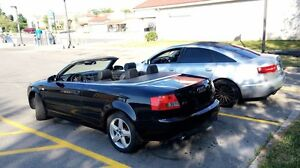Audi a4 convertible beautiful car for the beautiful weather