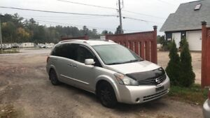 2007 Nissan quest (as is)