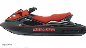 Wanted: damage supercharged Seadoo
