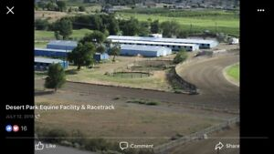 Thoroughbred Training Facilities, Osoyoos, BC