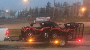 Package deal Canam outlander 500 and 400 and trailer
