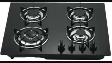 BRAND NEW 4 BURNER NATURAL GAS STOVE COOK TOP WITH AUTO IGNITION