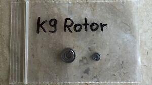 2x Kavo K 9 Lager Ersatzteile No K4,K5,K10,K11,Sf