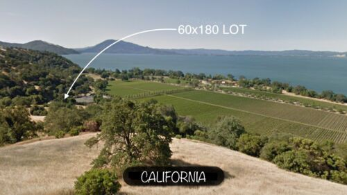 CALIFORNIA HILLSIDE SPECTACULAR WATER VIEWS, POWER, NO QUALIFYING LOW MONTHLY  - $249.00