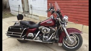 For sale 2003 Anniversary Road King, $9,000.