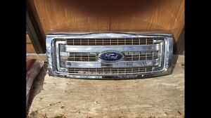 Chrome Ford Grille (man cave, bar, decor)