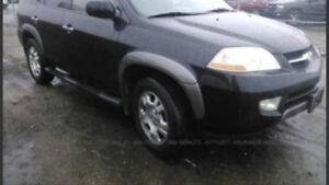 2001 Acura MDX Needs Transmission 1 owner