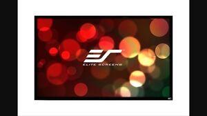 "92"" Elite (fixed frame) home theatre screen"
