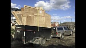 Ramassage de débris, vidange et résidus de construction