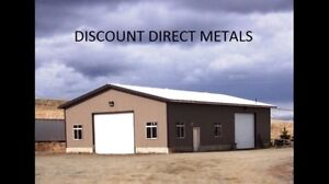METAL ROOFING AND SIDING.