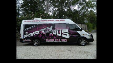 Custom Mercedes sprinter karaoke party Bus for sale