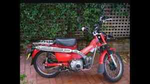 Honda CT110 Postie Bike QUICK SALE Wingfield Port Adelaide Area Preview